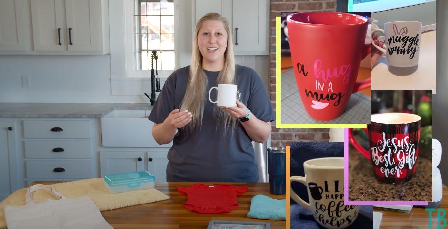 Mugs With Vinyl Designs On Them
