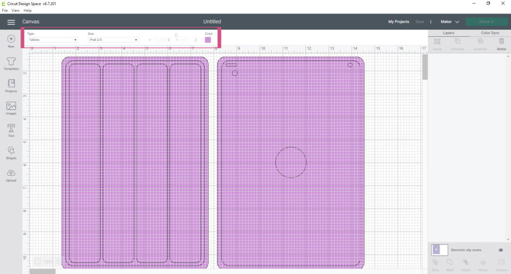 Narrowing Down Specific Templates In Cricut Design Space 1