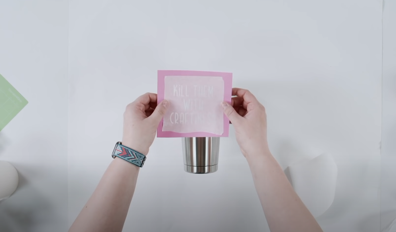 Place Your Design Onto The Tumbler