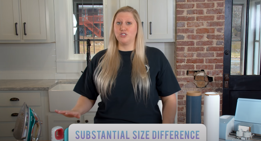 Substantial Size Difference