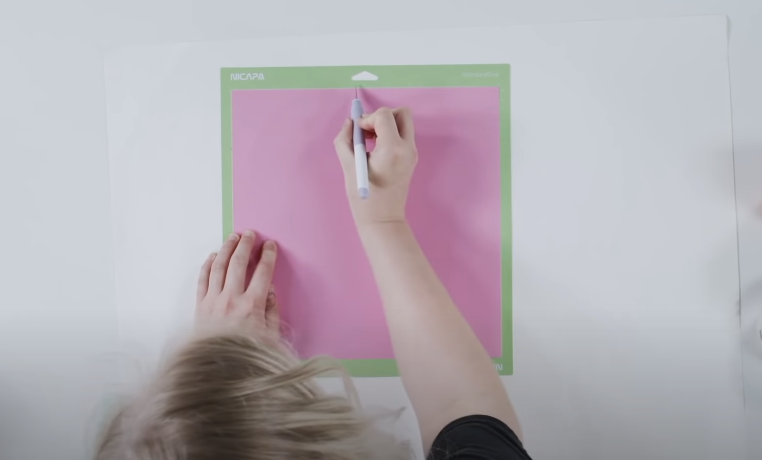 Trim Away The Excess Vinyl And Save The Scraps For Another Project