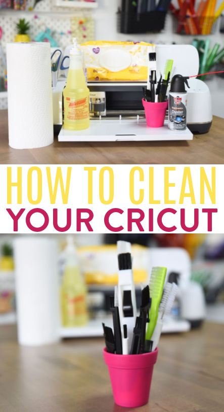 How To Clean Your Cricut 2