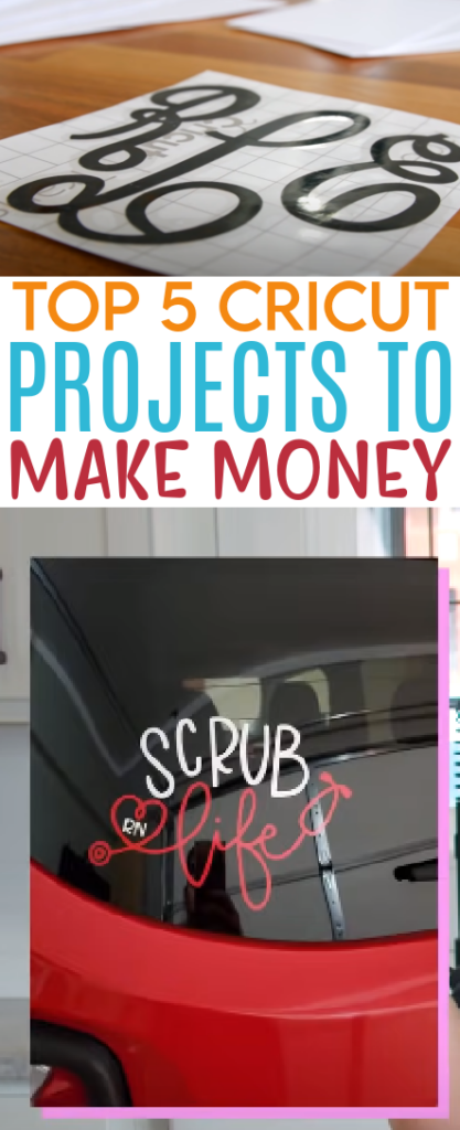 Top 5 Cricut Projects To Make Money 1