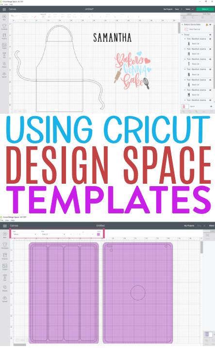 Using Cricut Design Space Templates 1