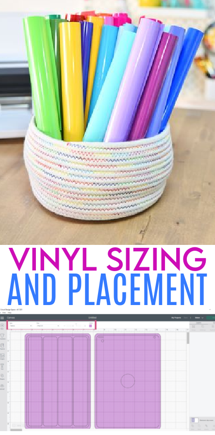 Vinyl Sizing And Placement