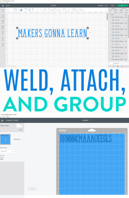 Weld Attach And Group