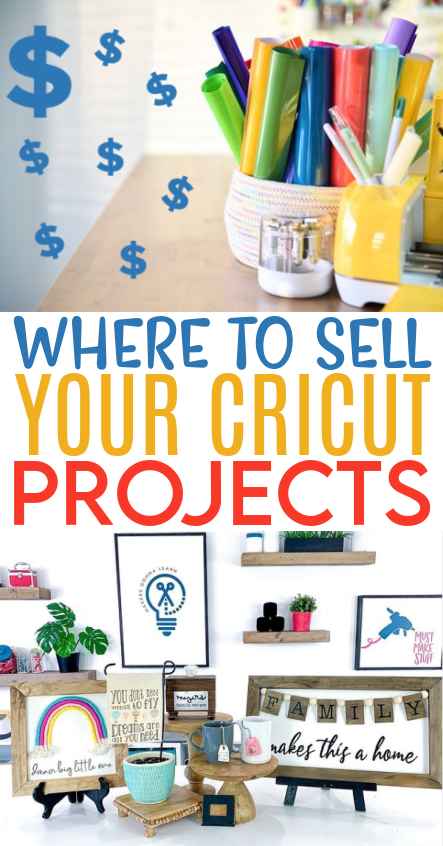 Where To Sell Your Cricut Projects 1