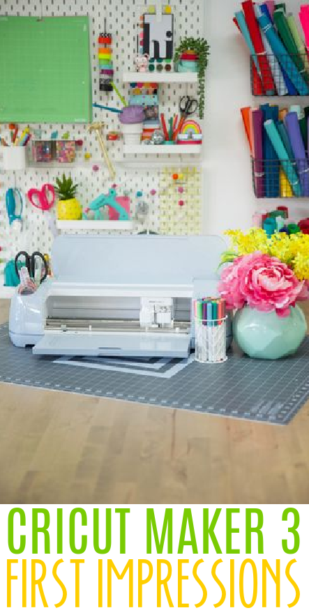 Cricut Maker 3 Unboxing and First Impressions