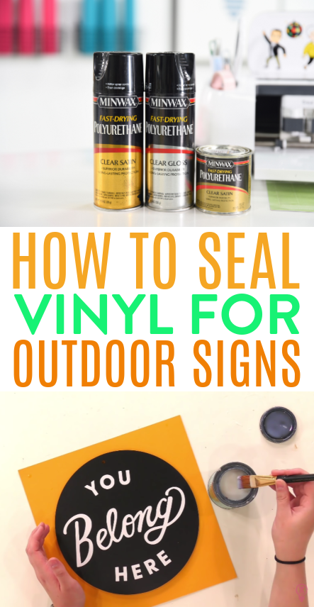 How To Seal Vinyl For Outdoor Signs 1