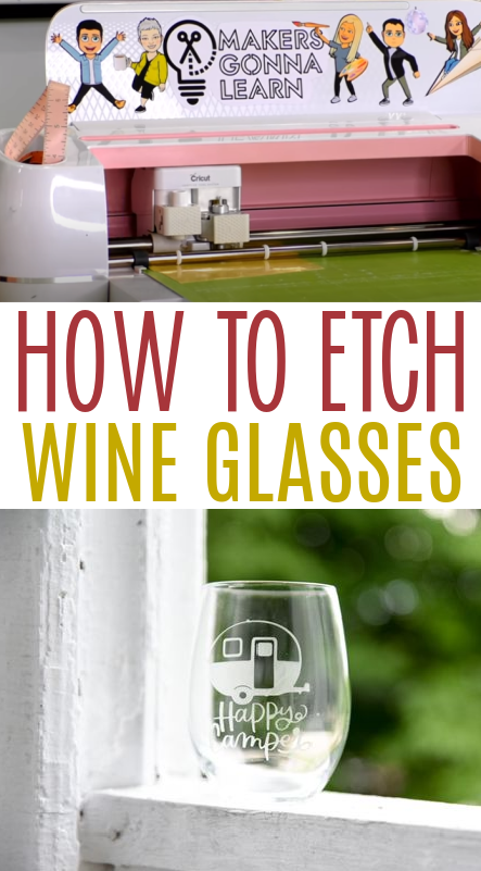 How To Etch Wine Glasses 1