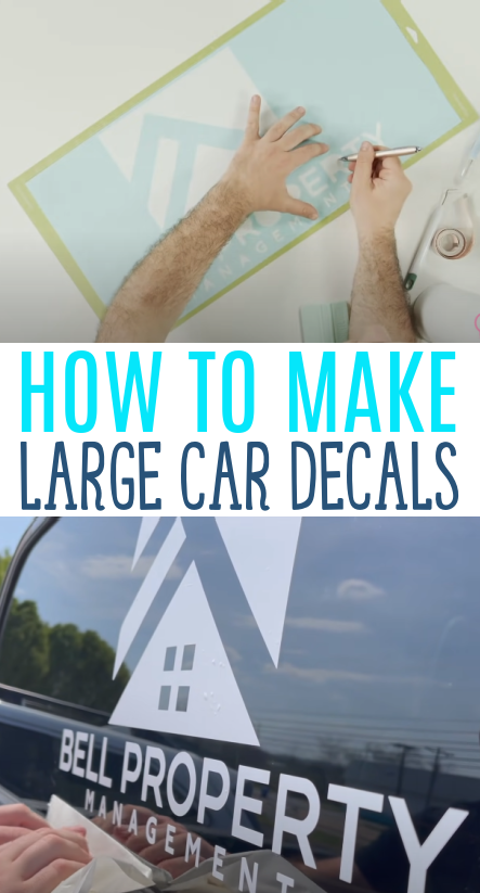 How To Make Large Car Decals 1