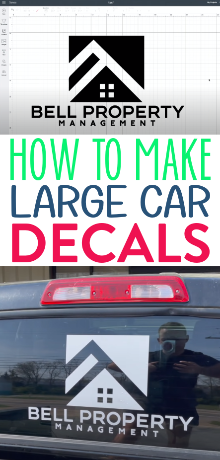 How To Make Large Car Decals