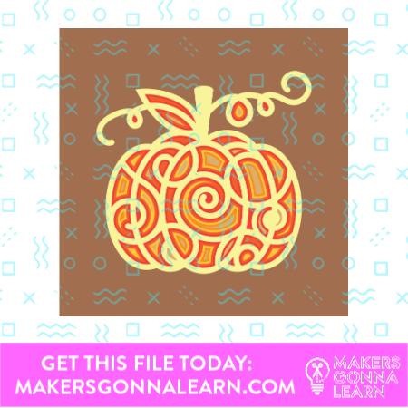 Mandala Pumpkin