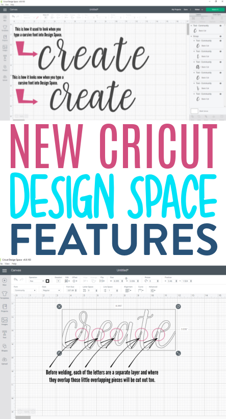 New Cricut Design Space Features 1