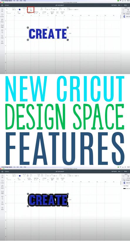 New Cricut Design Space Features