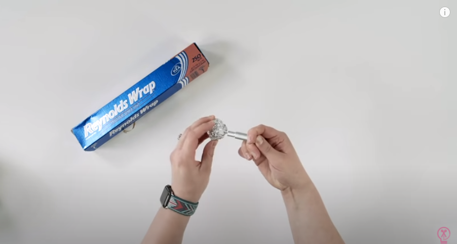 Cleaning Blade With Foil