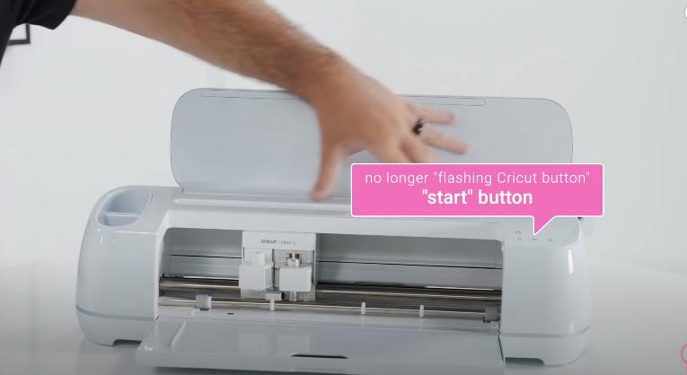 Flashing Cricut Button Replaced By Start Button On Cricut Maker 3