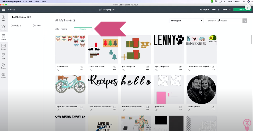 How To Organize Projects In Design Space