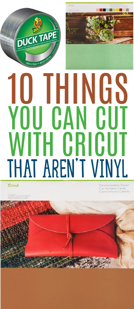 10 Things You Can Cut With Cricut That Arent Vinyl 2