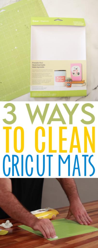 3 Ways To Clean Cricut Mats 1