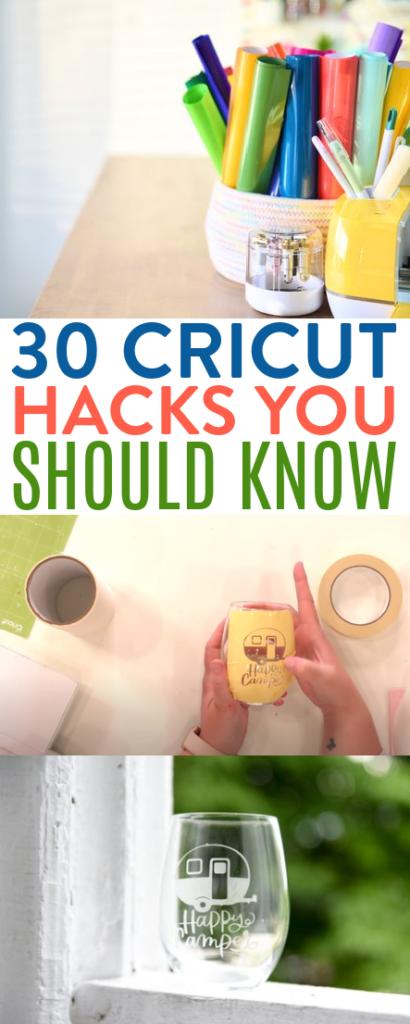 30 Cricut Hacks You Need To Know