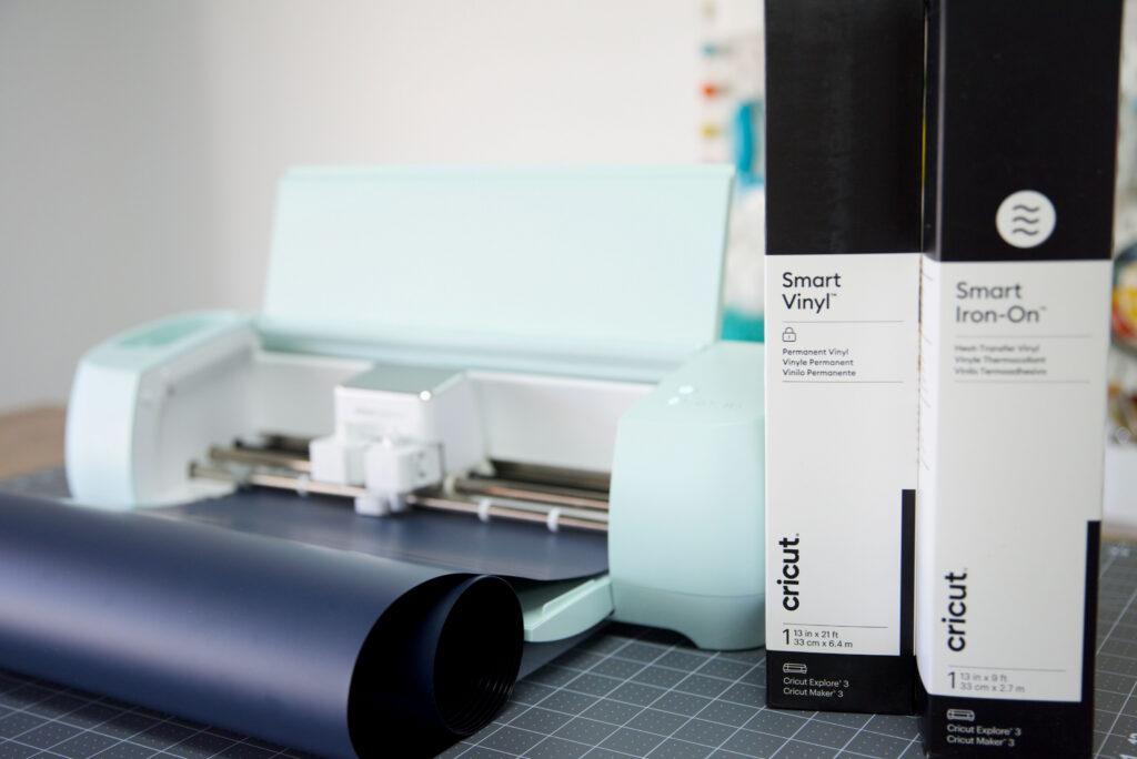 Cricut Explore 3 With Smart Vinyl And Smart Iron On