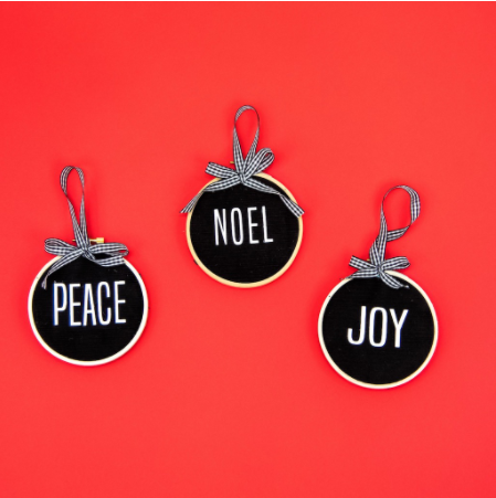 Diy Letterboard Christmas Ornaments