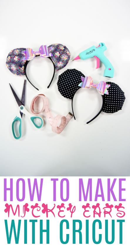 How To Make Mickey Ears With Cricut 1
