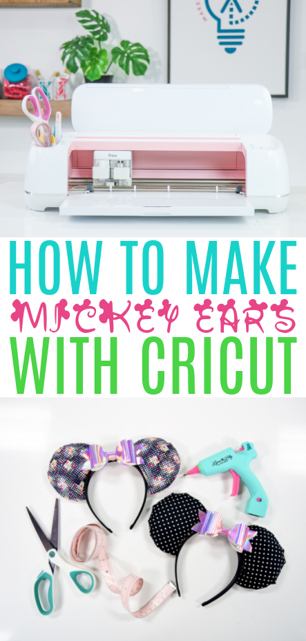 How To Make Mickey Ears With Cricut