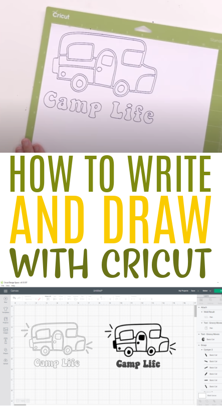 How To Write And Draw With Cricut 1