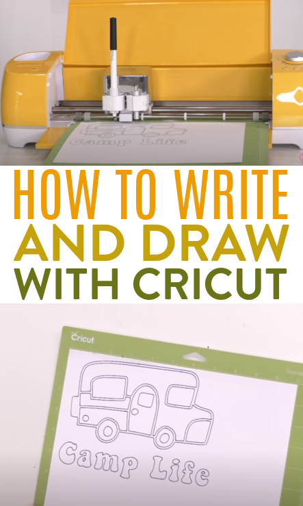 How To Write And Draw With Cricut