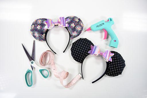 make your own custom disney ears headbands