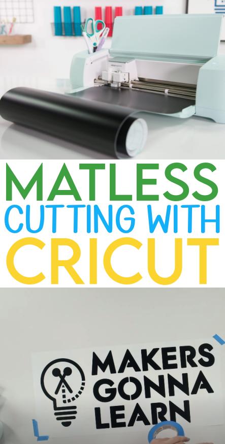 Matless Cutting With Cricut 1