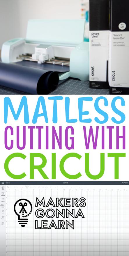 Matless Cutting With Cricut