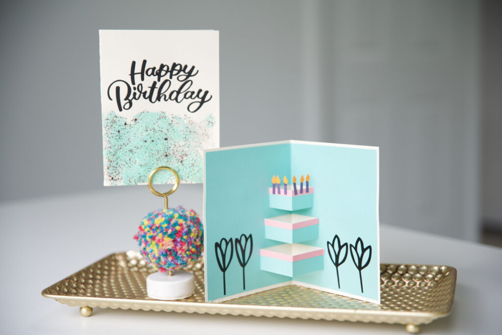 Birthday Card Made With Cricut Smart Materials
