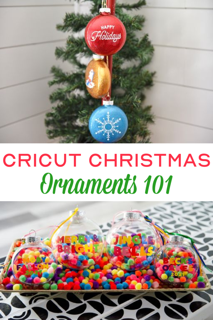 How To Make Cricut Christmas Ornaments