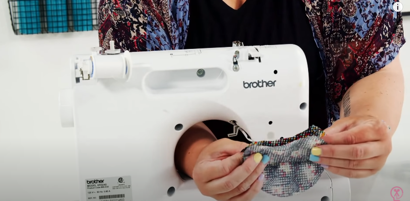Place Fabric Right Sides Together For Sewing