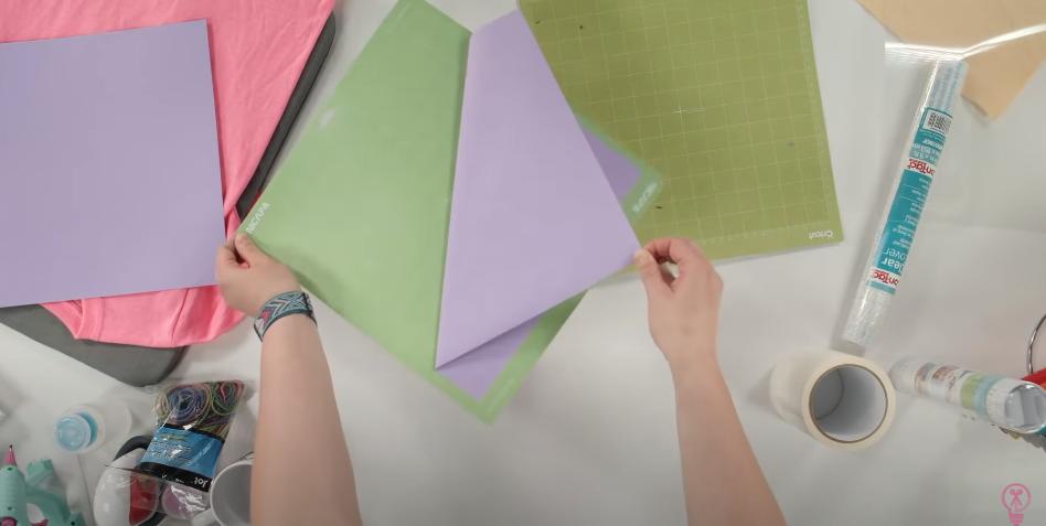 Pulling Paper Off A Cutting Mat