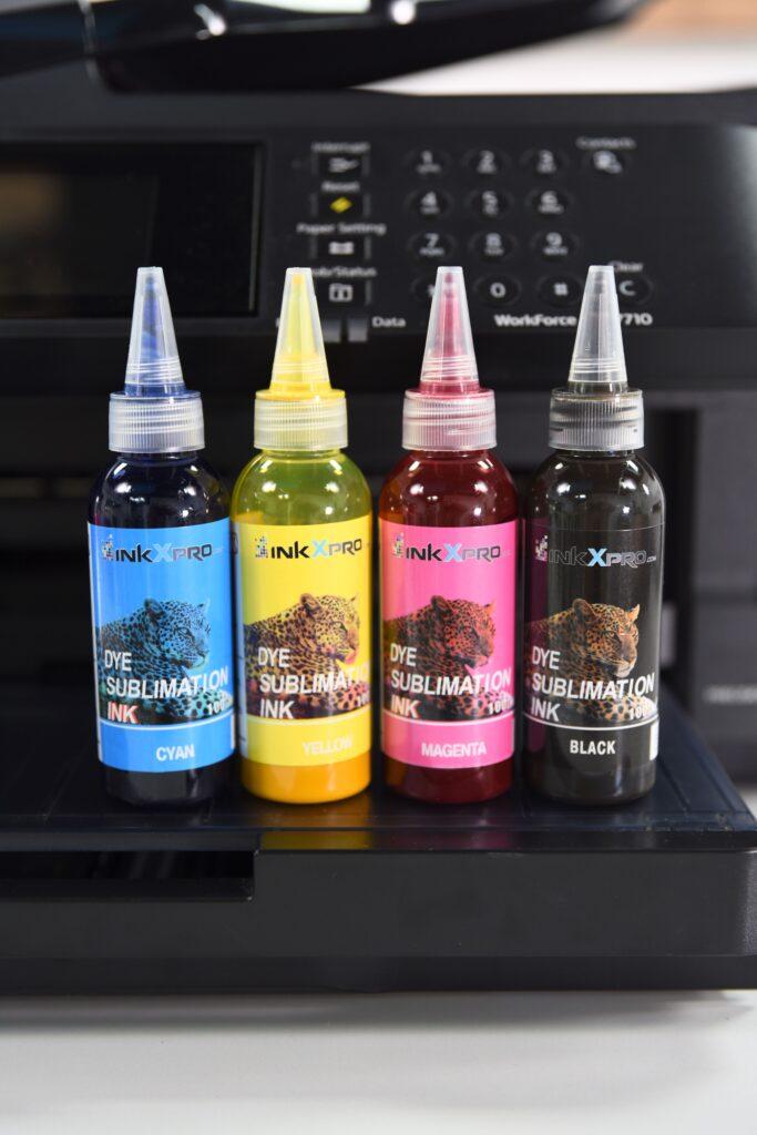 Sublimation Ink Bottles