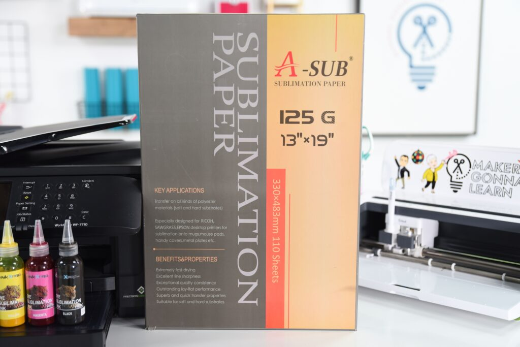 Sublimation Paper And Machines