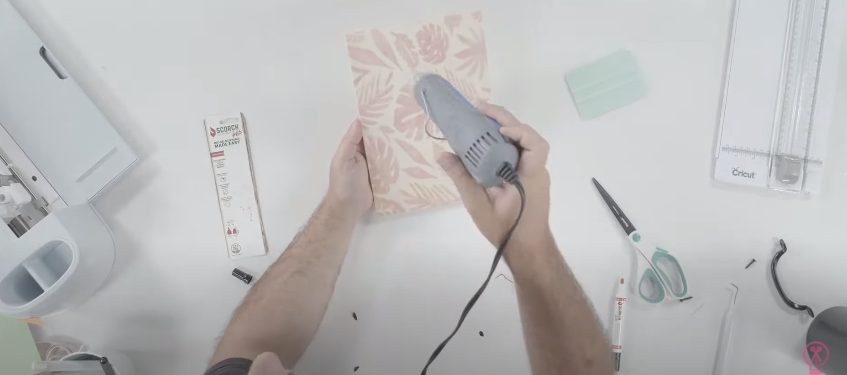 Use Heat Tool To Scorch Your Design