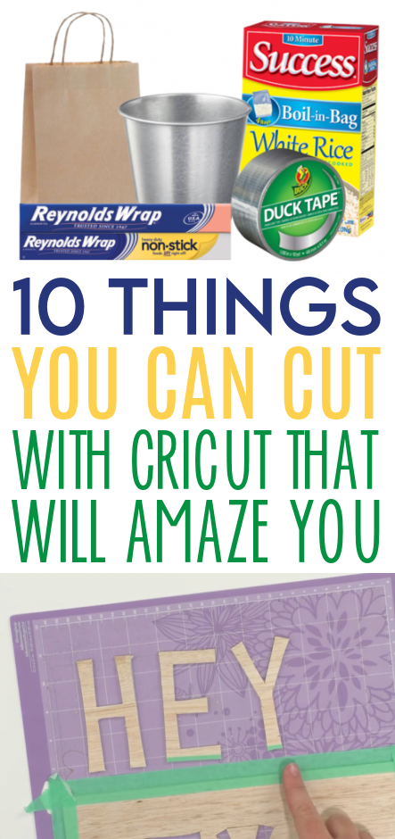 10 Things You Can Cut With Your Cricut That Will Amaze You 1