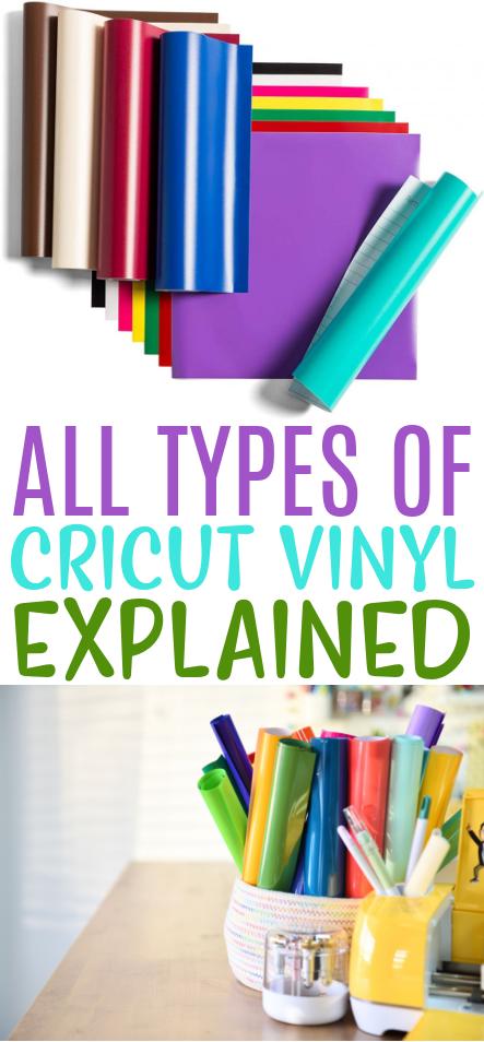All Types Of Cricut Vinyl Explained 1
