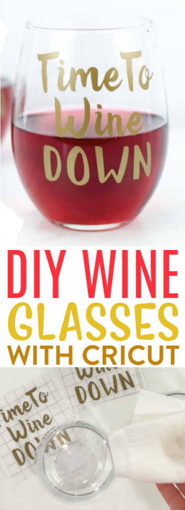 Diy Wine Glasses With Your Cricut