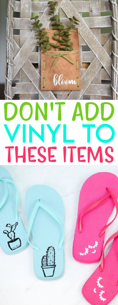 Dont Add Vinyl To These Items 1