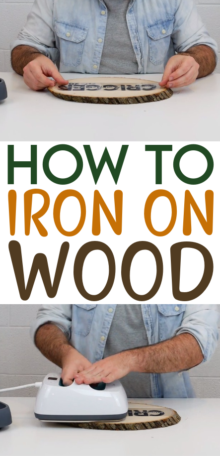 How To Iron On Wood 1