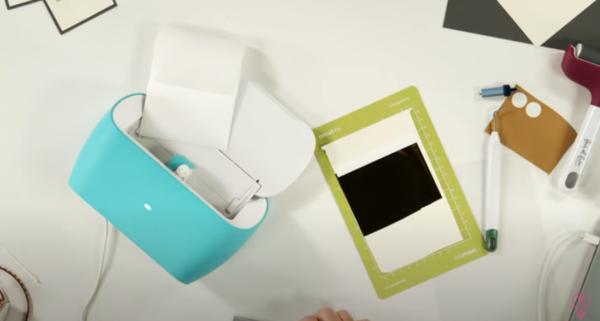 Get The Foil As Tight And Smooth Onto The Cardstock As Possible