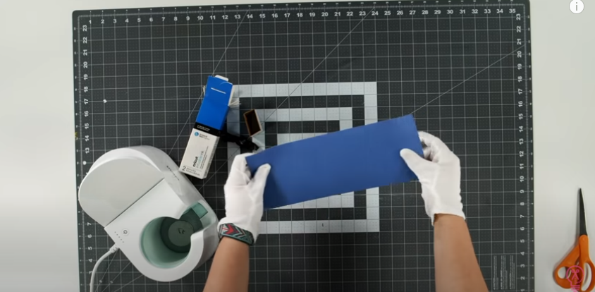 Use Cotton Gloves When Handling Infusible Ink