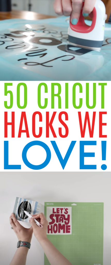 50 Cricut Hacks We Love 1