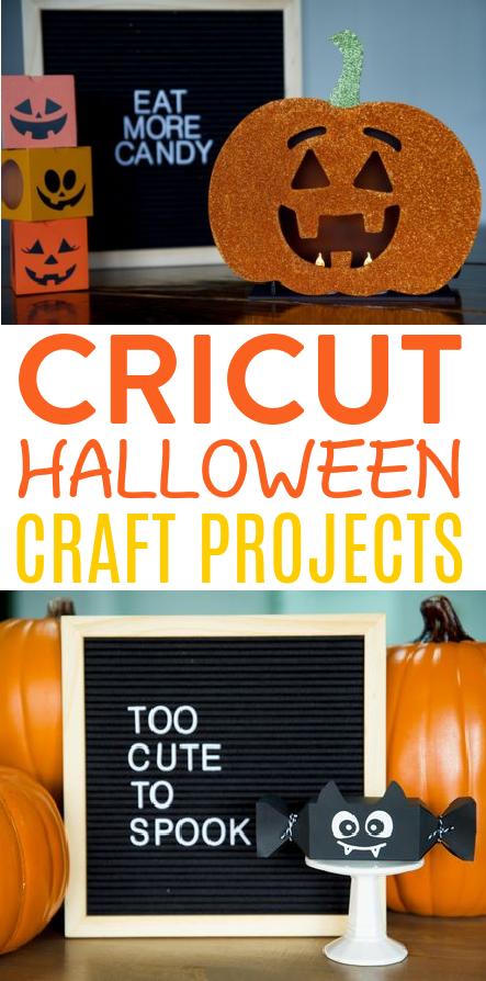 Cricut Halloween Craft Projects 1
